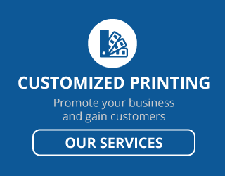 customized printing | promote your business and gain customers | our services